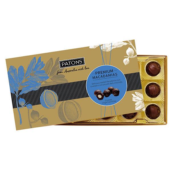 Premium Dark Chocolate Macadamias