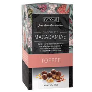 Artisan Milk Chocolate Toffee Macadamias
