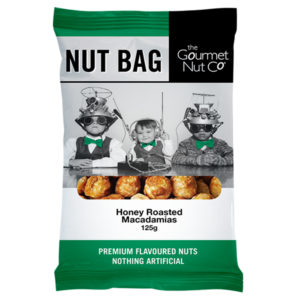 Nut Bag Honey Macadamias