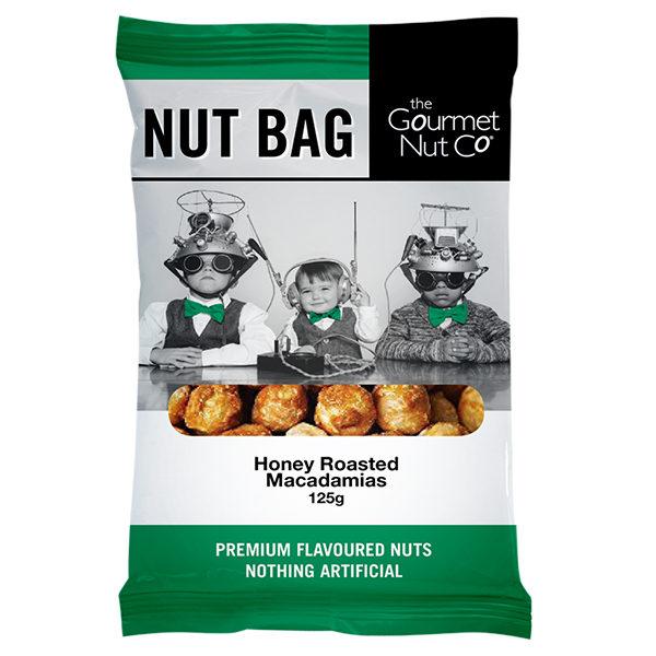 Nut Bag Honey Macadamias