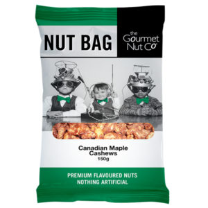 Nut Bag Maple Cashews