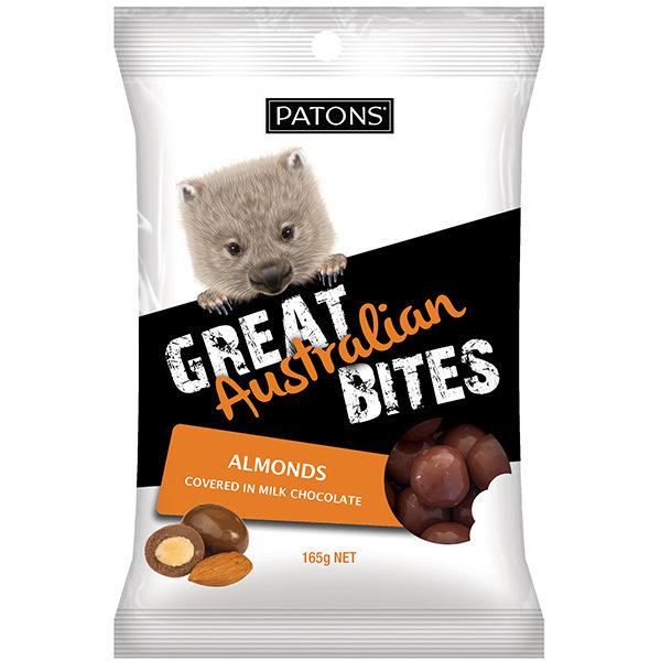 Great Australian Bites Milk Almonds