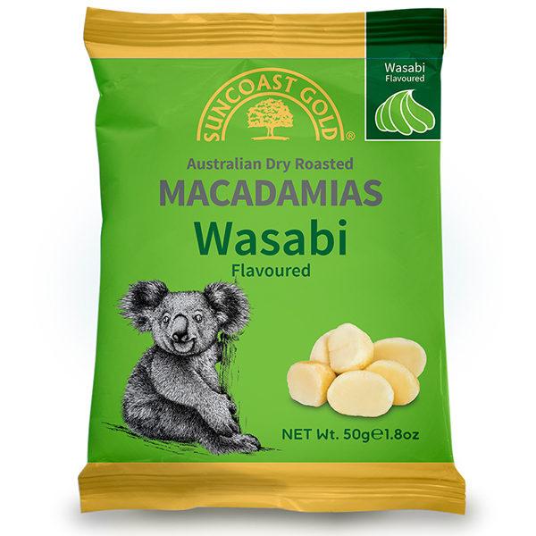Flavoured Macadamias Wasabi
