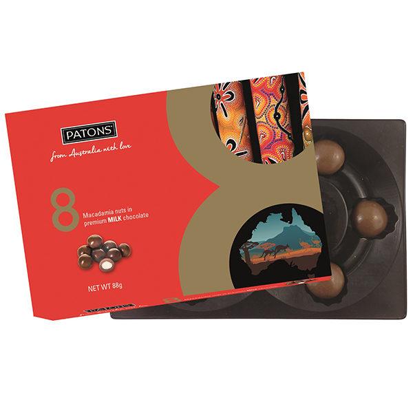 Lucky 8 Milk Chocolate Macadamia Australian